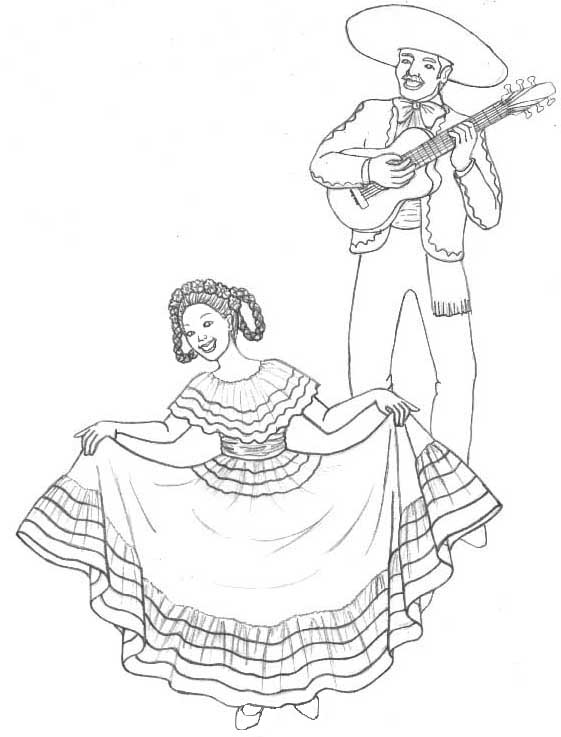 spanish culture coloring pages online - photo#41